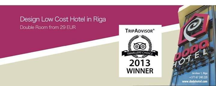 Dodo Hotel Riga cover