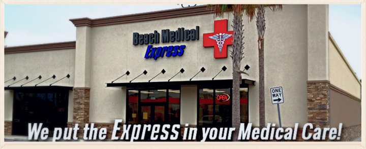 Beach Medical Express cover