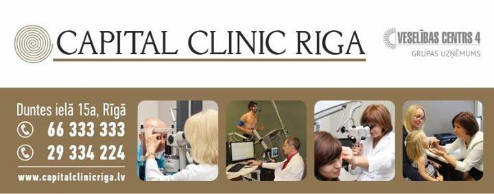 Capital Clinic Riga cover