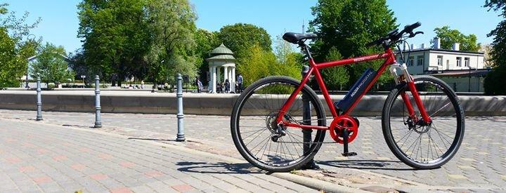 Blue Shock Bike cover