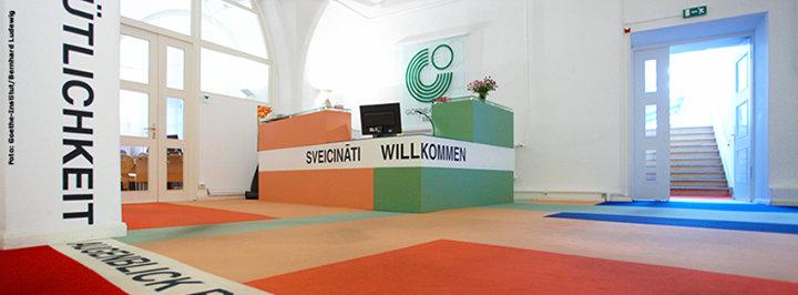 Goethe-Institut Riga cover