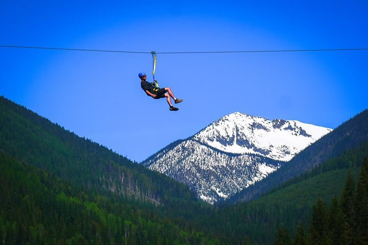 Kokanee Mountain Zipline cover