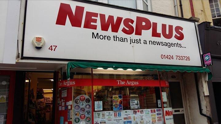 NewsPlus aka Frog's Shop cover