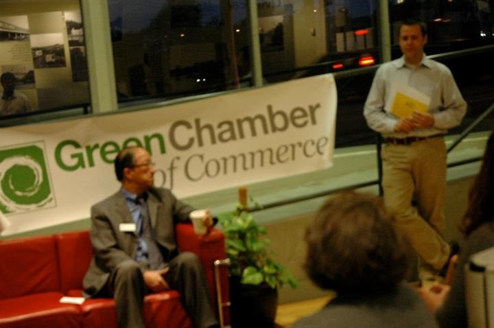 The Green Chamber of Commerce cover