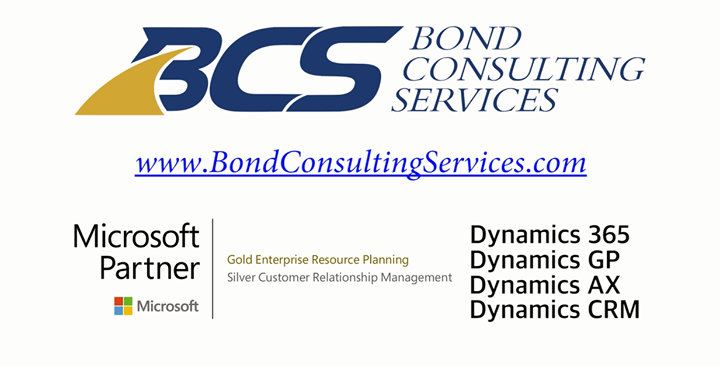 Bond Consulting Services cover