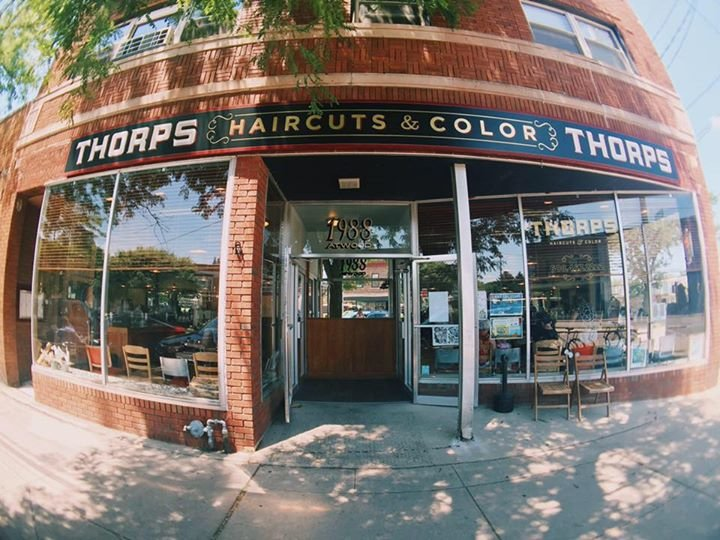 THORPS haircuts & color cover