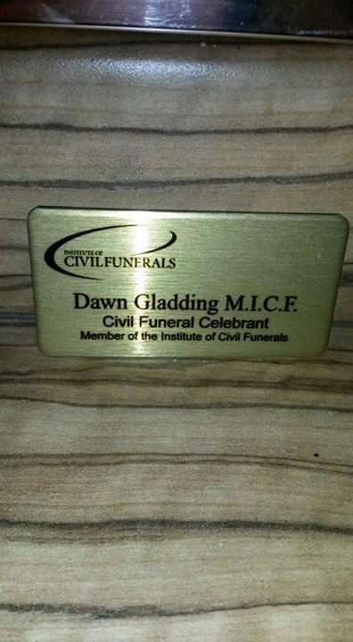 Civil Funeral Celebrant (Dawn Gladding) cover