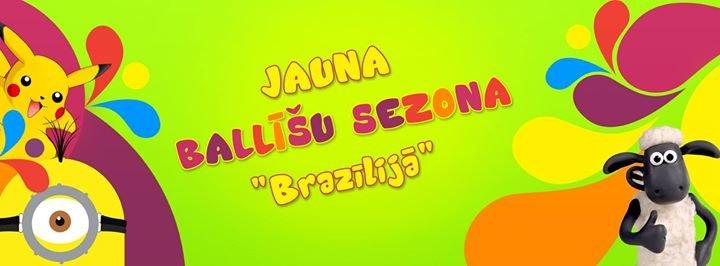 Pludmale Brazīlija cover