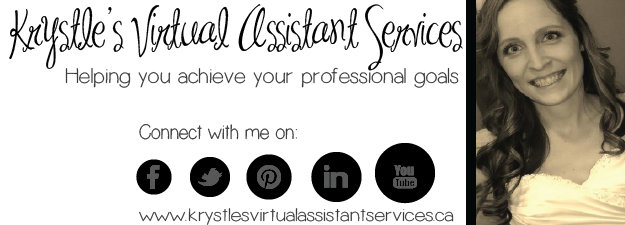Virtual Assistant - Krystle cover