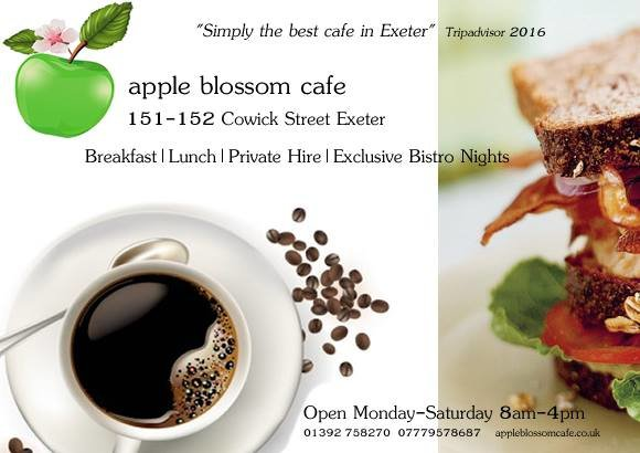 Apple blossom cafe cover