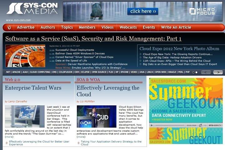 SYS-CON Media cover