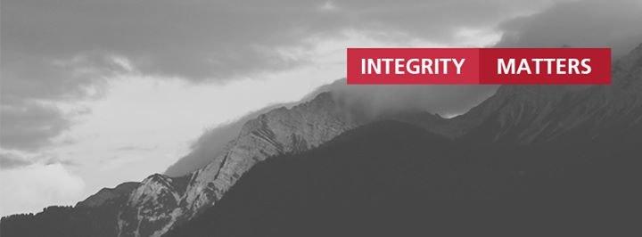 Integrity PR cover