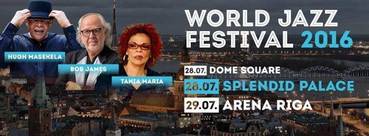 WORLD JAZZ Festival cover