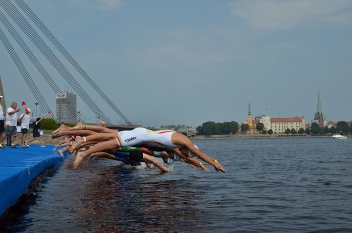 Latvian Triathlon Federation cover