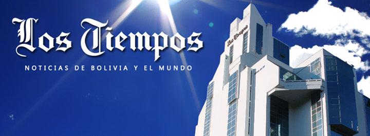 Los Tiempos cover