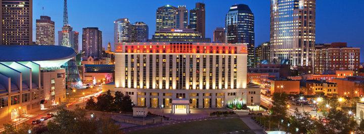 Nashville Hilton Downtown cover
