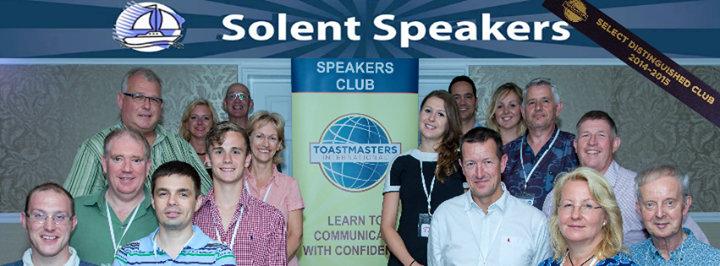 Solent Speakers Public Speaking Club cover