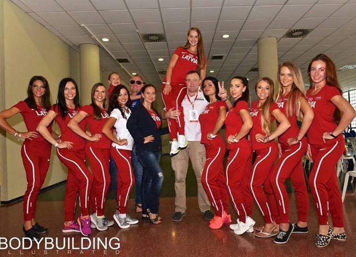 IFBB Latvia Bodybuilding&Fitness cover