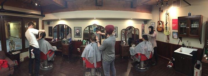 Saint Lou's Gentlemen's Barber Shop cover