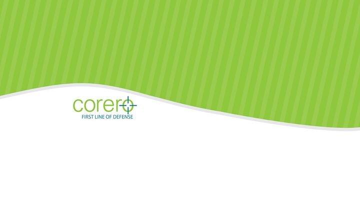 Corero cover