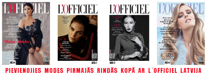 L'Officiel Latvia cover