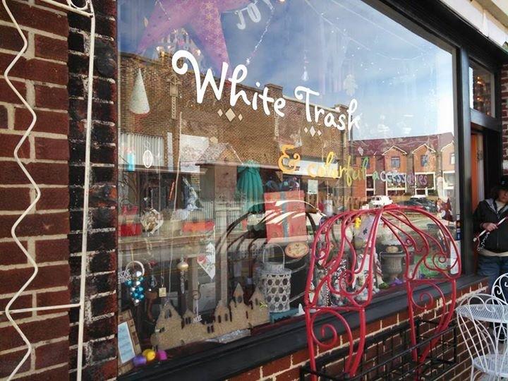 White Trash & colorful accessories cover