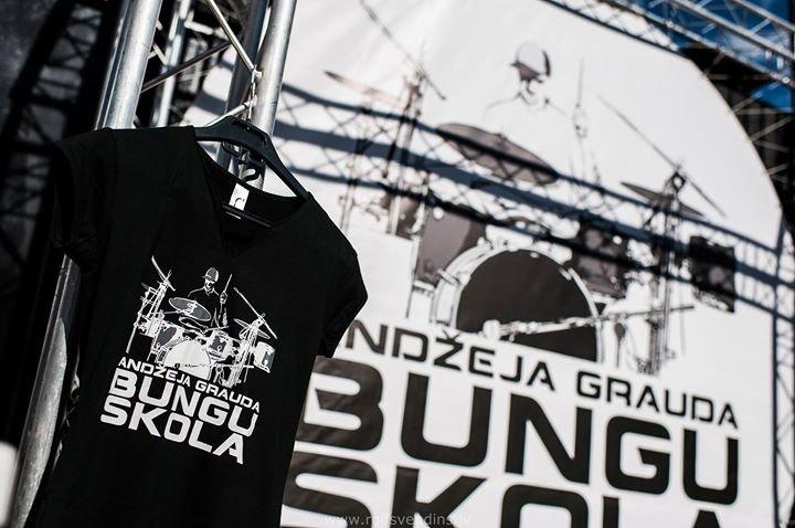Andžeja Grauda BUNGU SKOLA / Drum school LV cover