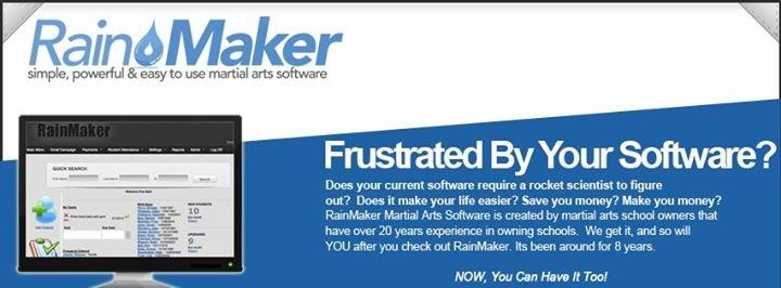 RainMaker Martial Arts Software cover