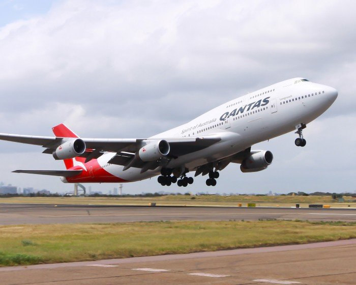 Qantas cover