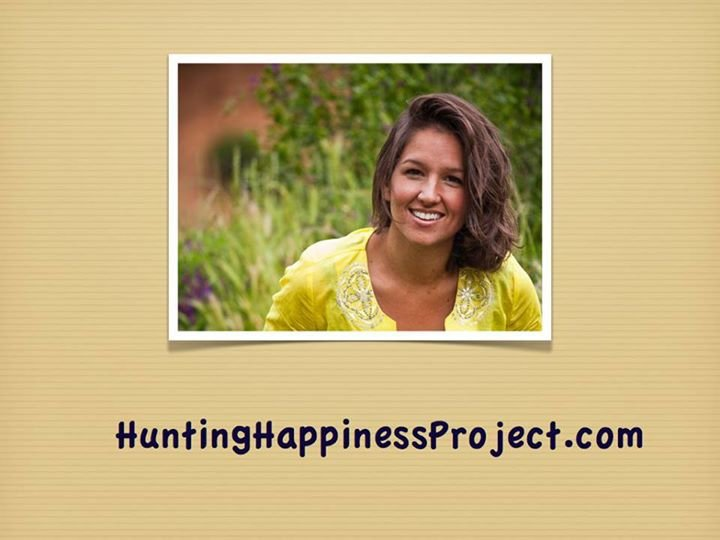 Hunting Happiness Project cover