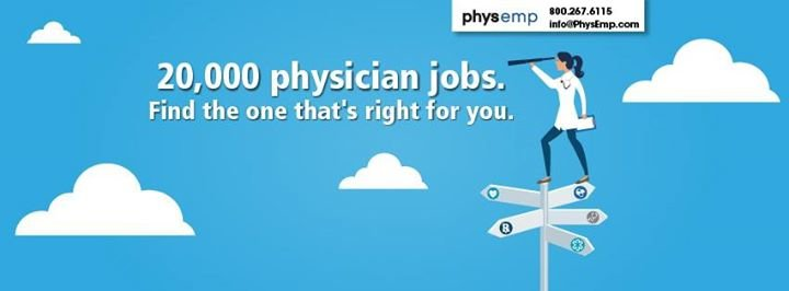 PhysEmp - The Job Board for Physicians cover