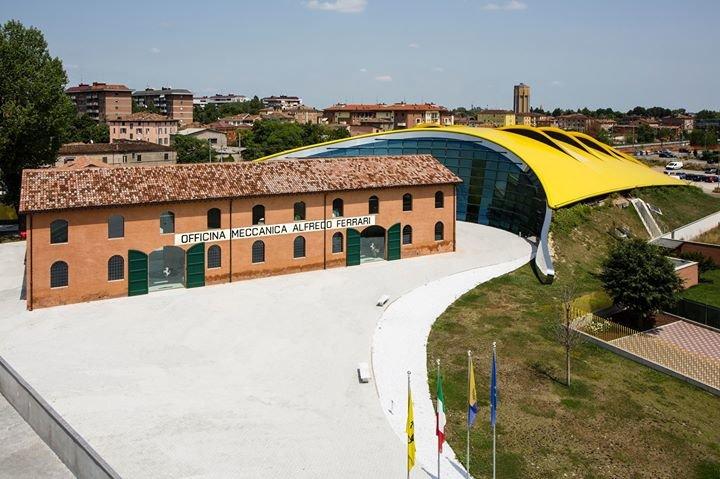 Museo Enzo Ferrari cover
