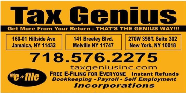 Tax Genius Inc cover