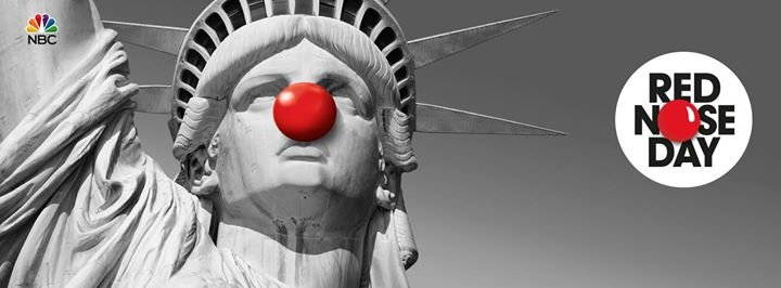 Red Nose Day USA cover