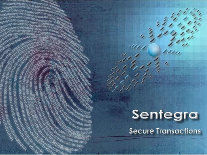 Sentegra, Electronic Transaction, Authentication and Marketing Technologies cover