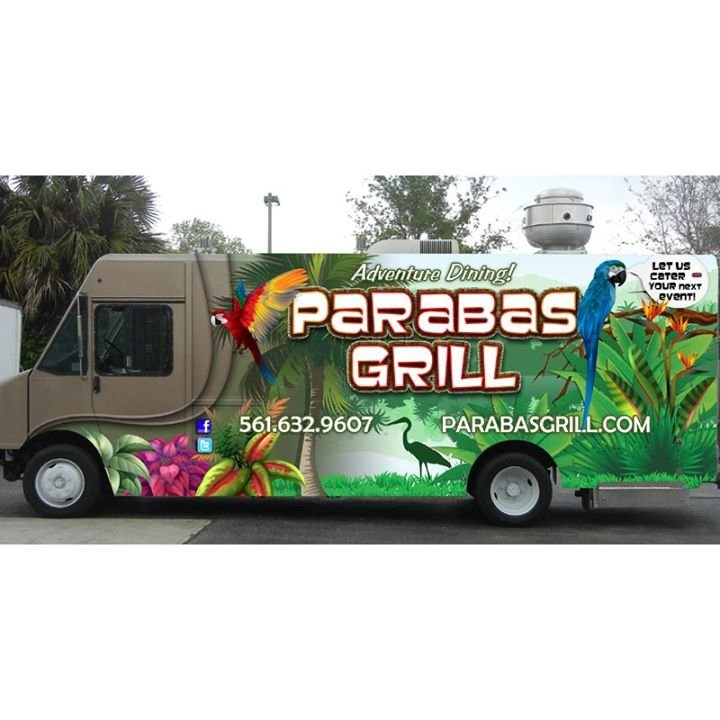 Parabas Grill cover