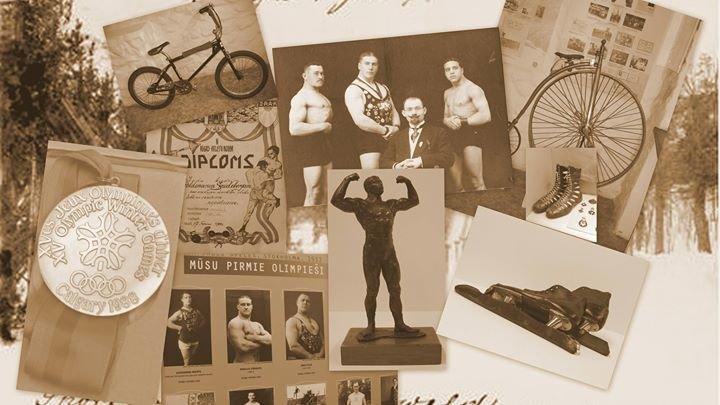 Latvijas Sporta muzejs cover