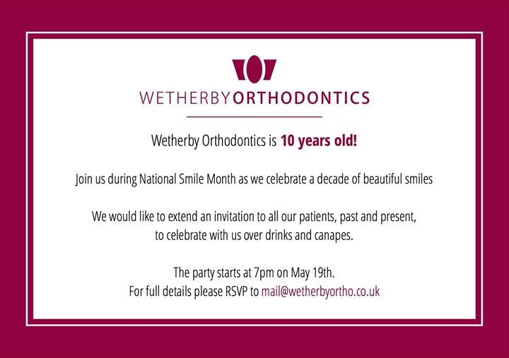 Wetherby Orthodontics cover
