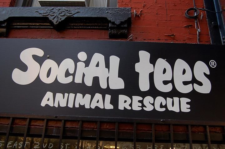 Social Tees Animal Rescue cover