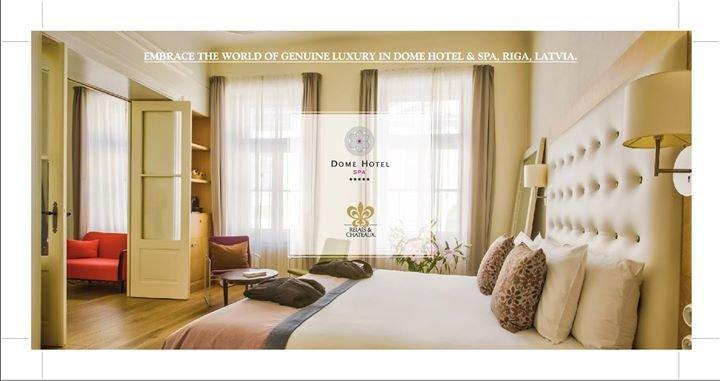 Dome Hotel & SPA Riga cover