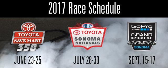 Sonoma Raceway cover
