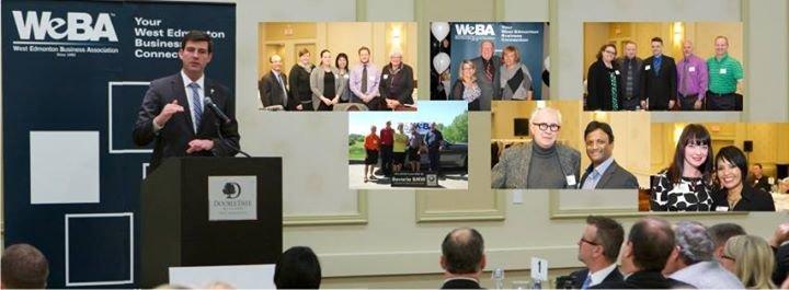 WeBA -  West Edmonton Business Association cover