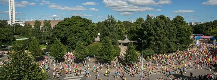 Helsinki City Marathon cover
