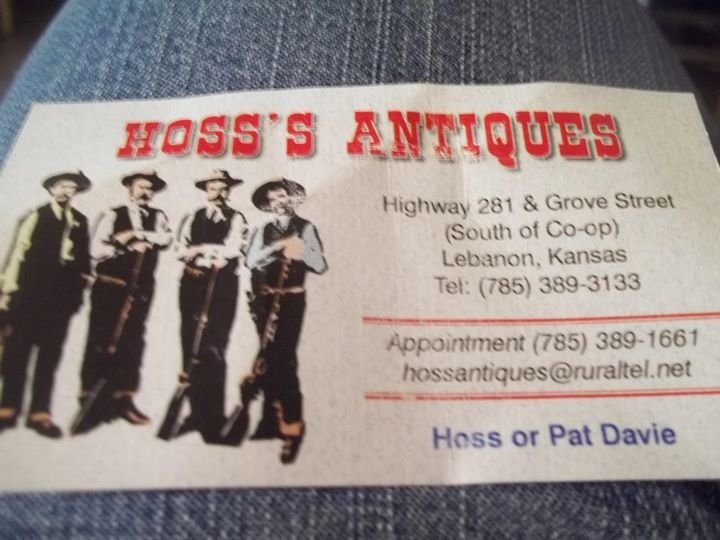 Hoss's Antiques cover