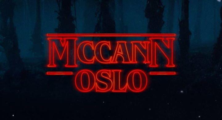 McCann Oslo cover