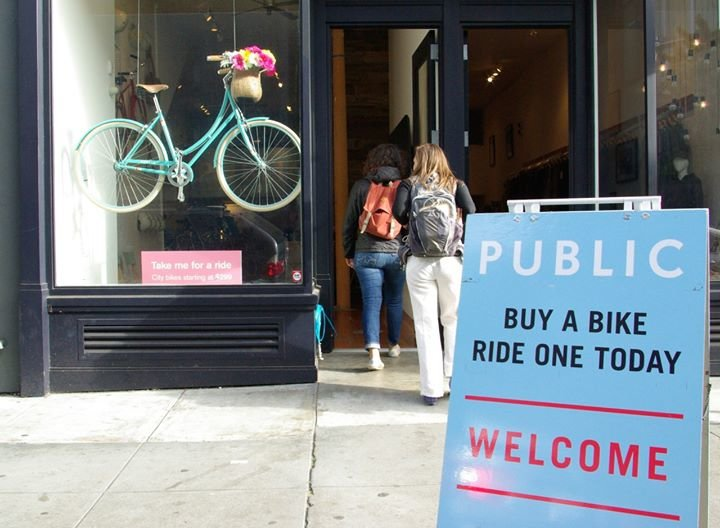 Public Bikes + Gear San Francisco cover
