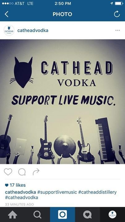 Cathead Vodka cover