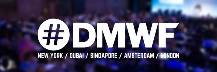 Digital Marketing World Forum - #DMWF cover