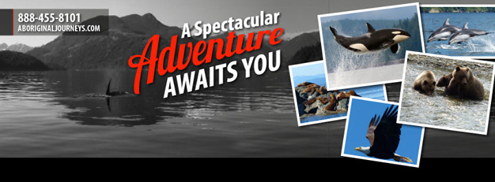 Aboriginal Journeys - Whale Watching & Grizzly Bear Tours cover
