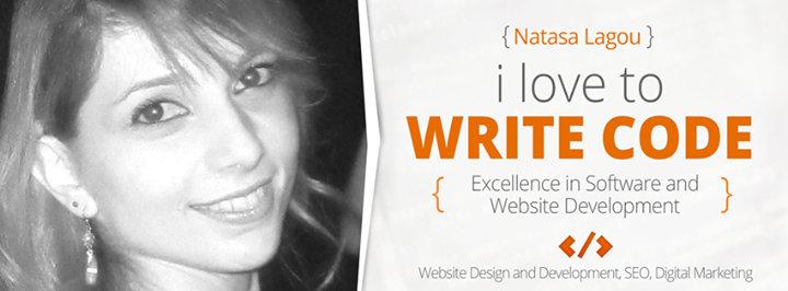 Natasa Lagou - Software and Website Developer cover